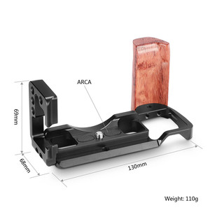 Image 2 - SmallRig A6500 L Bracket CageสำหรับSony Alpha A6500 แผ่นด้านข้าง + Arca Baseplate Lแผ่นไม้hand Grip  2074