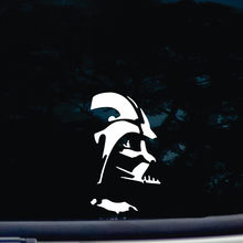 Darth Vader Gestanst Gitaar Sticker Vinyl Grappig Decal Voor Ramen, Auto 'S, Vrachtwagens, Tool Dozen, laptops, 6 ''Tall(China)