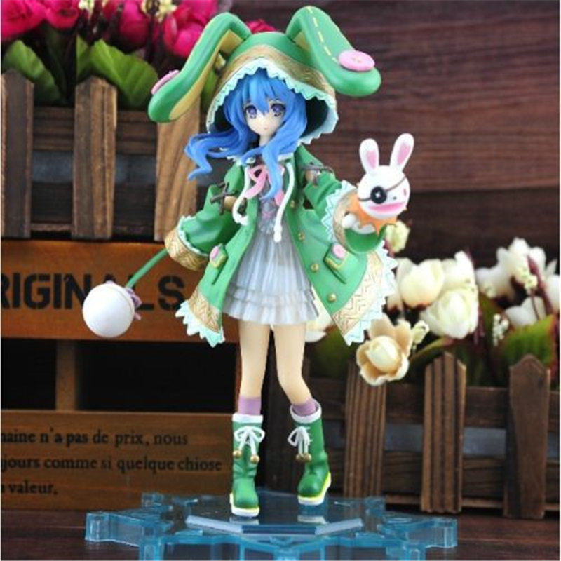 [PCMOS] 2017 New Japanese Anime Date A Live Hermit Yoshino 1/8 Scale Painted PVC Figure 18cm/7 NO Box Model Toy 5346-L dating war date a live yoshino hermit pvc action figure model toy retail