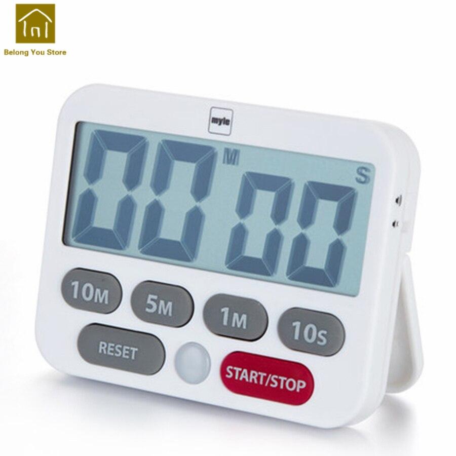 Us 1978 50 Offkuchnia Timer Przypomnienie Alarm Elektroniczny Zegary Minutnik Godziny Lcd Duży Zegar Cyfrowy Temporizador Elektronika Domowa