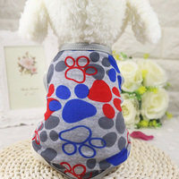 Cute Pet Dog Clothes Summer Cotton Puppy Shirts Dog Coats & Jackets