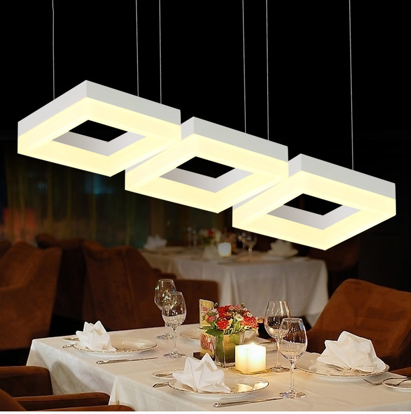 Modern Led Pendant Lights For Dining Room Living Room