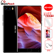 Bluboo S1 4G Bezel-less Smartphone 5.5 Inch FHD Helio P25 Octa Core Android 7.0 4GB+64GB 3500mAh Dual Rear Camera Mobile Phone