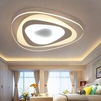 2017 Hot Sale Abajur Sala Ceiling Lamps Simple Modern Atmospheric Fashion Ellipse Led Living Room Corridor Bedroom Lamp Acrylic