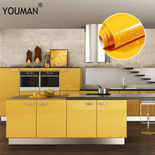 цена 3M/5M/10M Modern Vinyl DIY Decorative Film PVC Self adhesive Wall paper Furniture Renovation Stickers Kitchen Cabinet Wallpaper онлайн в 2017 году