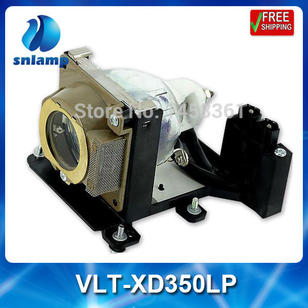Фотография Replacement compatible projector lamp VLT-XD350LP for XD350