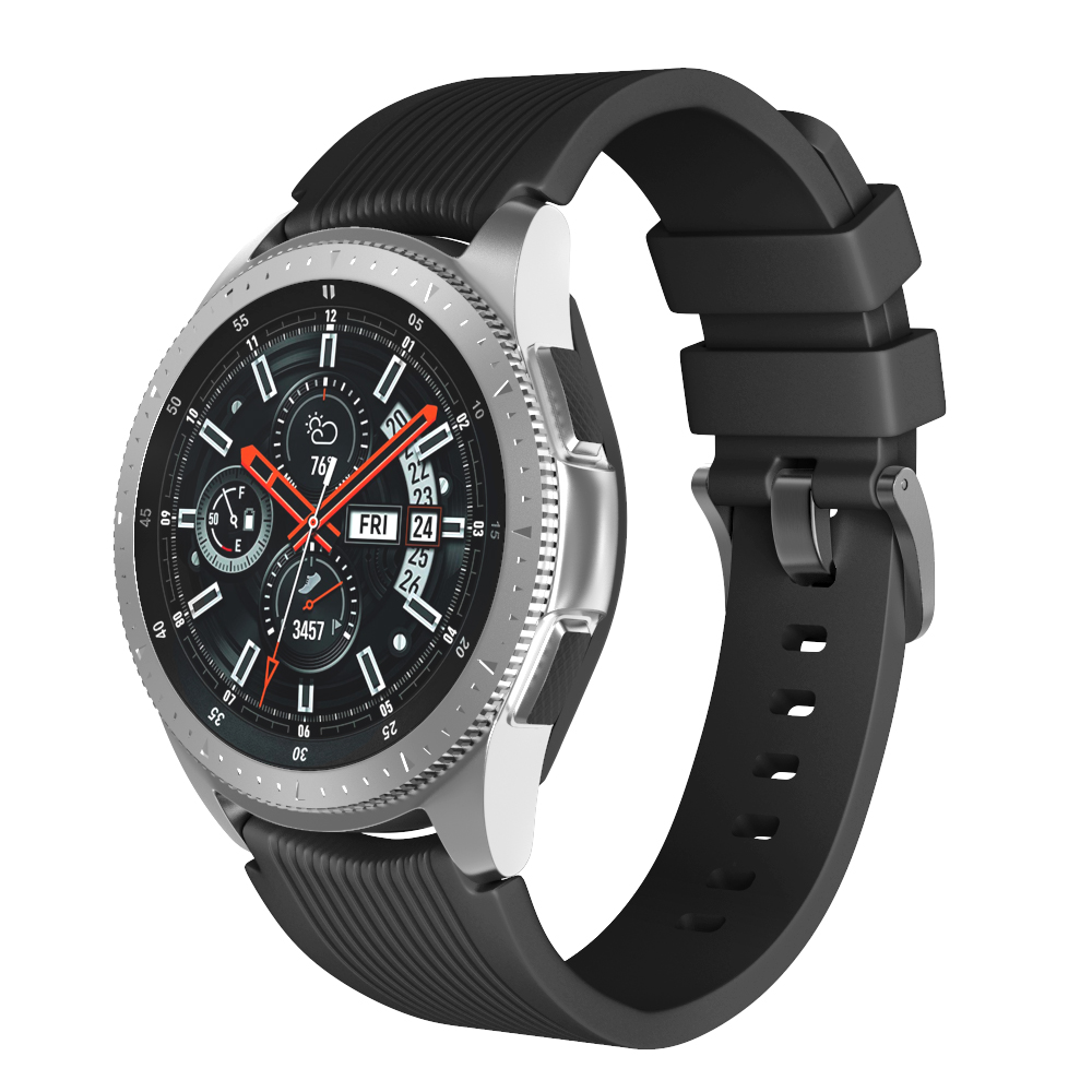 22mm Width Soft Silicone Strap for Samsung Galaxy Watch 46mm Band Silicone Watchband for Samsung Gear S3/S3 Frontier Wristband watch strap soft silicone band strap for samsung galaxy watch 46mm correas for samsung gear s3 frontier classic smart watch 22mm