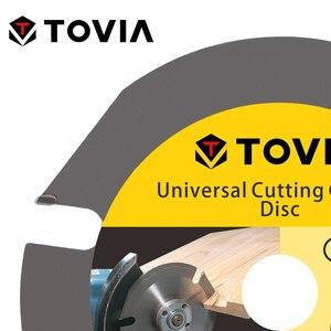 Image 4 - Tovia 150Mm Cirkelzaagblad Multitool Slijper Saw Disc Hardmetalen Hout Slijpschijf Hout Snijden Power Tool Accessoires