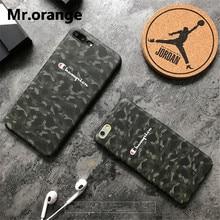 CHAMPION Camouflage Phone Case iPhone 6 6s Plus 7 7 Plus 8 X