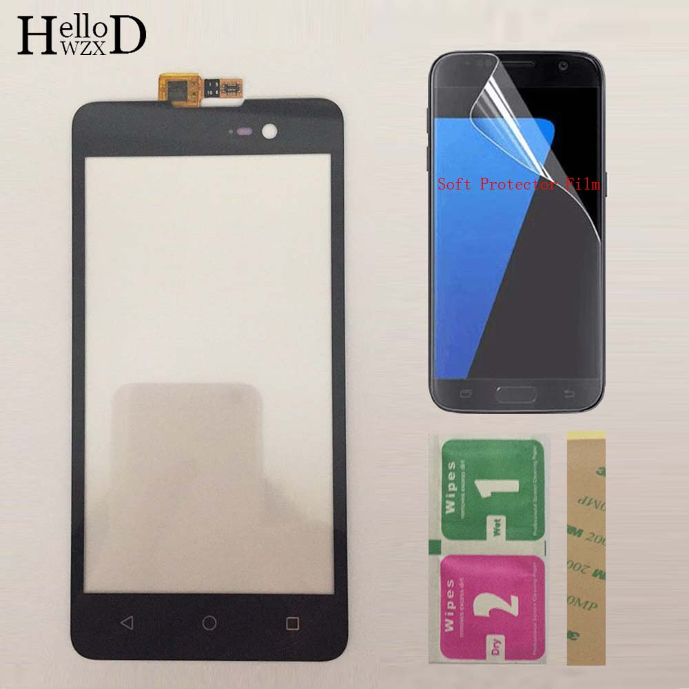 Moible Phone Touch Screen Front Glass Touchscreen For Micromax Spark 2 Q334 Touch Screen Digitizer Panel Sensor Protector Film
