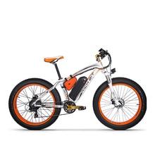 Richbit bicicleta elétrica, novo RT 012 plus, poderoso, 21 velocidades, 17ah 48v, 1000w, pneu gordo, ebike com computador, velocímetro odomo elétrico