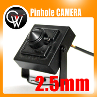 New 2 5mm Lens 125 Degrees 700tvl CCD Mini CCTV Camera Security Camera Free Shipping