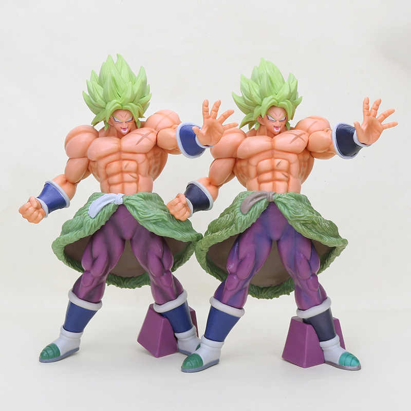 32 cm Tamanho Grande Anime Dragon Ball Super Sayian O 20th Film Ver. broly Brolly Figura de Ação DO PVC Brinquedos Brolly