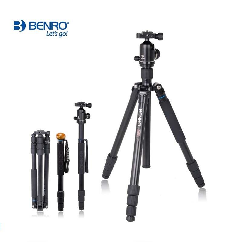 NEW Tripod Benro monopod A2682TV2 professional SLR camera tripod V2 head portable travel photography loading 18kg