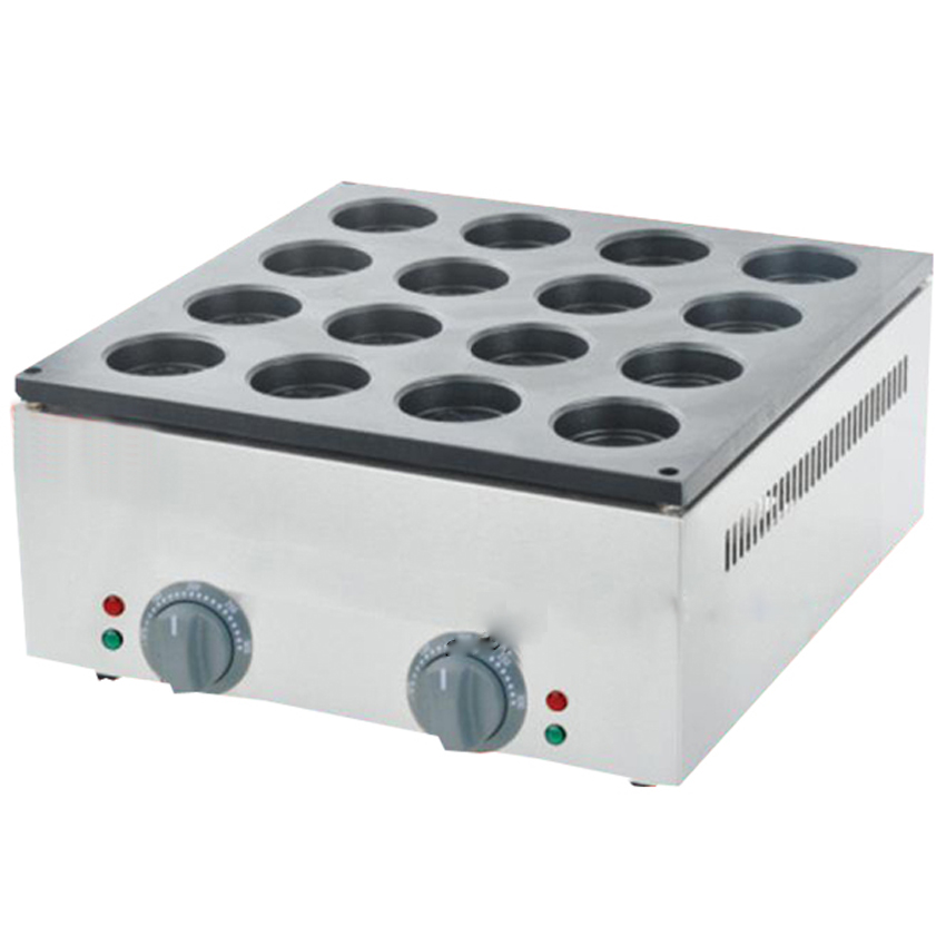 1PC FY-2233B 16 Hole Electric Aluminum Plate Layer Cake Machine ( pattern in bottom board) Red bean Machine  free shipping gas type 16 hole layer cake machine pattern in bottom waffle machine