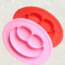 Улыбка силиконовый цельнокроеные столовые тарелки формы для торта формы сковородки wholesоптовая