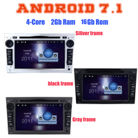 Quad Core Android 7 1 Car Dvd Gps Player For Opel Meriva Vivaro Zafira Combo Astra