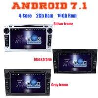 Quad Core Android 7 1 Car Dvd Gps Player For Opel Meriva Vivaro Zafira Combo Astra
