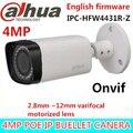 Original dahua h.265 ipc-hfw4431r-z 2.8-12mm lente varifocal motorizada 4mp ir 80 m câmera ip poe rede digital câmera hfw4431r-z