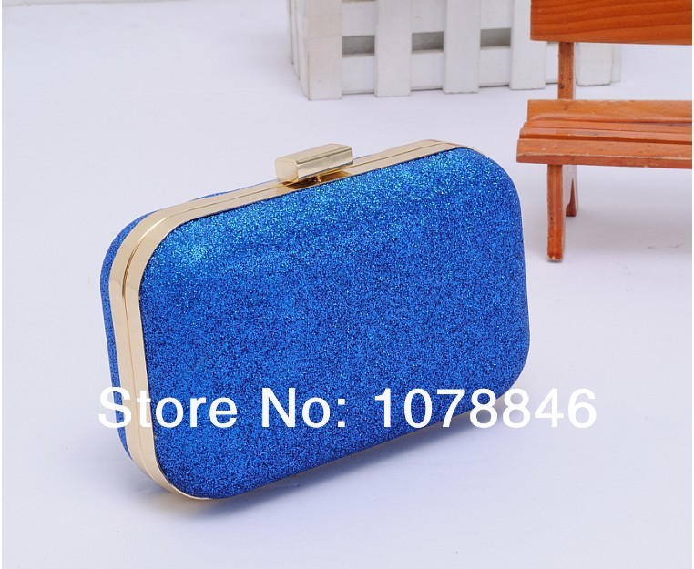 Fashion Sweet Mini Clutch 7 Colors Evening Party bags Purse Powder Ball Evening Bag Box Women Leather Handbag shoulder wallets