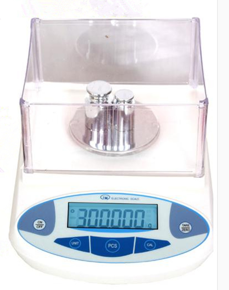2kg/0.01g Lab Analytical Digital Balance Scale