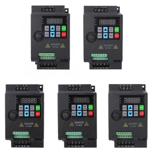 SKI780 VFD แปลงความถี่ตัวแปรสำหรับมอเตอร์ควบคุมความเร็ว 220 V/380 V 0.75/1.5/2.2KW ปรับความเร็วอินเวอร์เตอร์ความถี่ใหม่