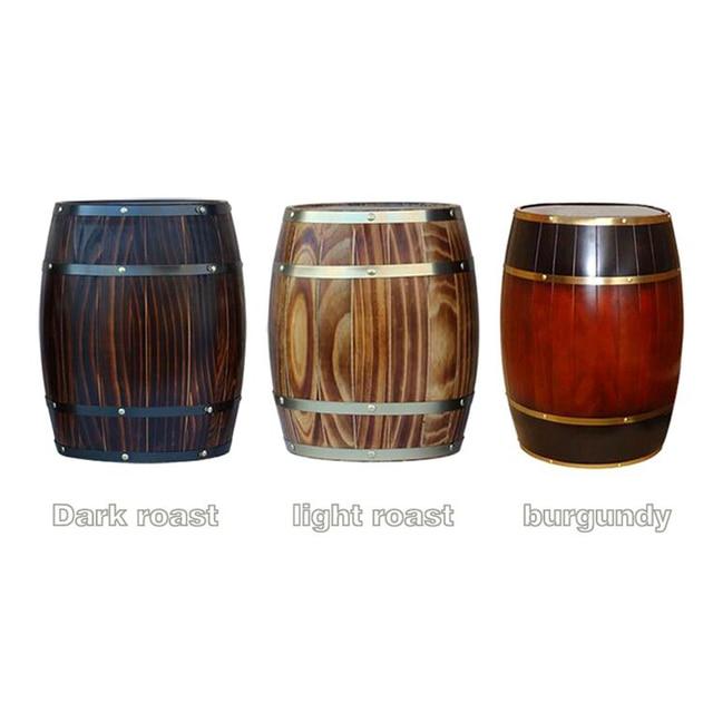 deco tonneau bois trendy faible cot haut profit dcoration de nol mini baril en bois de gros. Black Bedroom Furniture Sets. Home Design Ideas