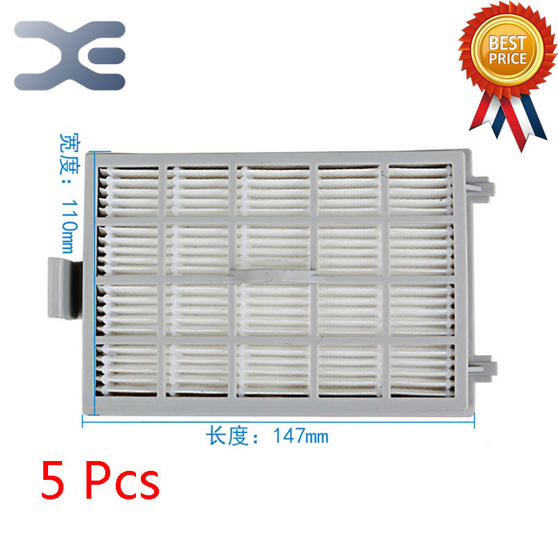 5Pcs Lot High Quality Adapt to For Midea VC35J-10AC / VC35J-10AD Vacuum Cleaner Accessories Filter HEPA Filter 5pcs lot high quality compatible with for midea vacuum cleaner accessories filter hepa vc34j 09c vc12c1 vv