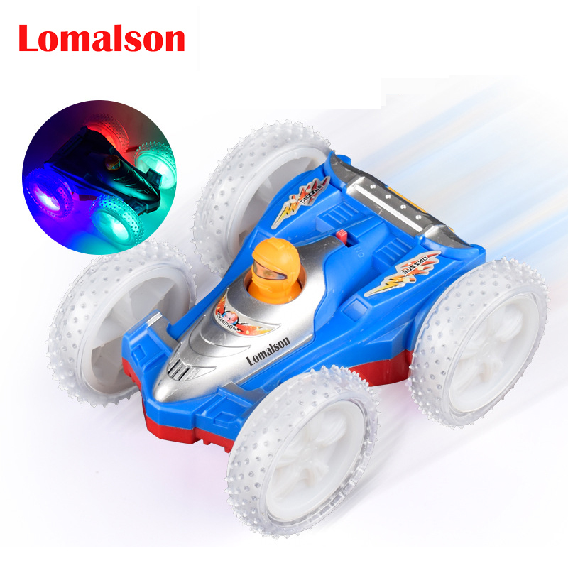Toy Cars That Flip Over : Aliexpress buy big wheels electric double face stunt