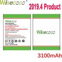 WISECOCO 3100 мАч BL242 Батарея для lenovo K3 K30-W K30-T A6000 A3860 A3580 A3900 A6010 A6010 Plus чехол мобильного телефона + номер для отслеживания