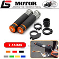 Motorcycle Handle bar / Handlebar Grips Carbon Fiber Material 7/8'' CNC 22MM for For KTM 125/200/390 DUKE RC 690 1190