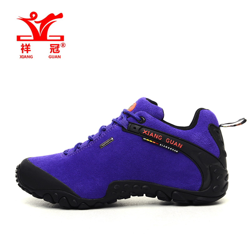 ФОТО High Quality Womens Vogue Sports Outdoor Hiking Shoes Sneakers For Women Sport Climbing Mountain Trekking Shoes Woman