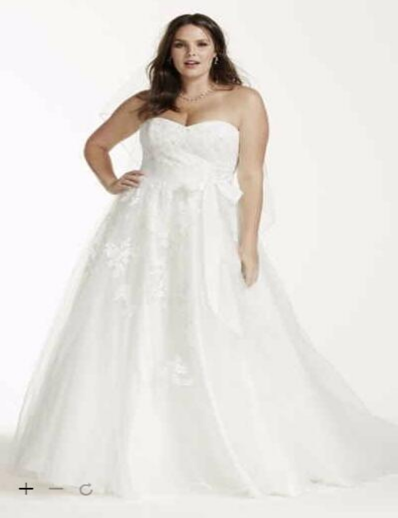 Popular davids bridal buy cheap davids bridal lots from for Plus size wedding dresses san francisco