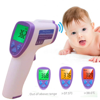 LCD Non Contact IR Laser Gun Infrared Digital Thermometer Baby Adult Body Thermometers Children Temperature Measurement