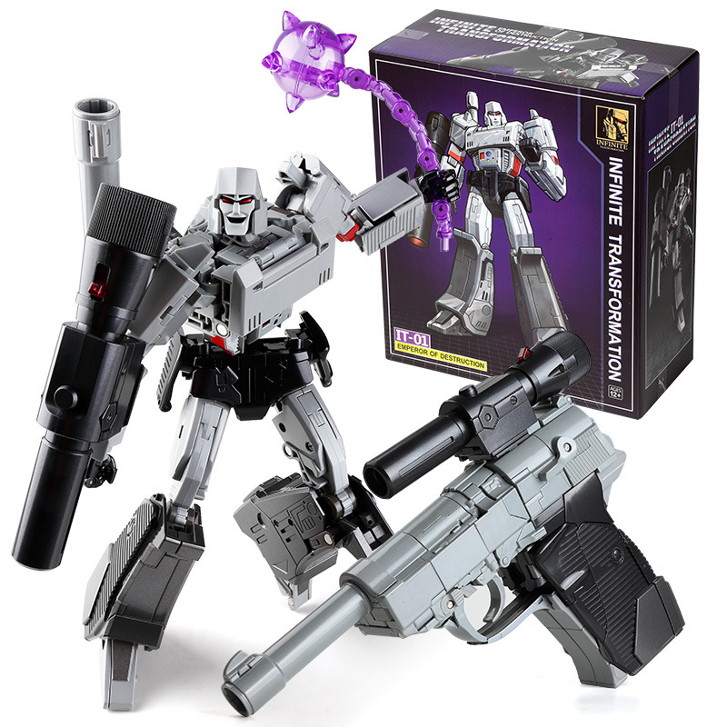Transformation Galvatron MGTron IT-01 MP36 MP-36 Emperor of Destruction it01 KO Collection Action Figure Robot Toys цена