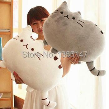 40 * 30 cm brinquedo de pelúcia boneca de animais de brinquedo Pusheen gato para menina crianças Kawaii Brinquedos frete grátis
