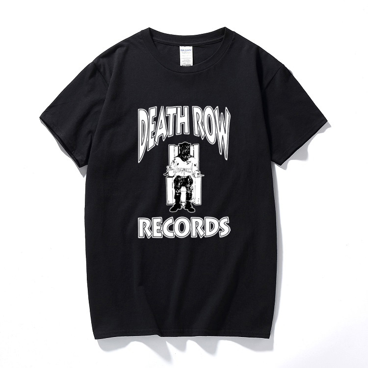 Detail Feedback Questions about DEATH ROW T SHIRT Rap Tee Hip Hop Graphic  90 s Dr. Dre Snoop Dogg West Coast Summer Casual Short Sleeve T shirt  Camisetas ... 66ac6fd9718