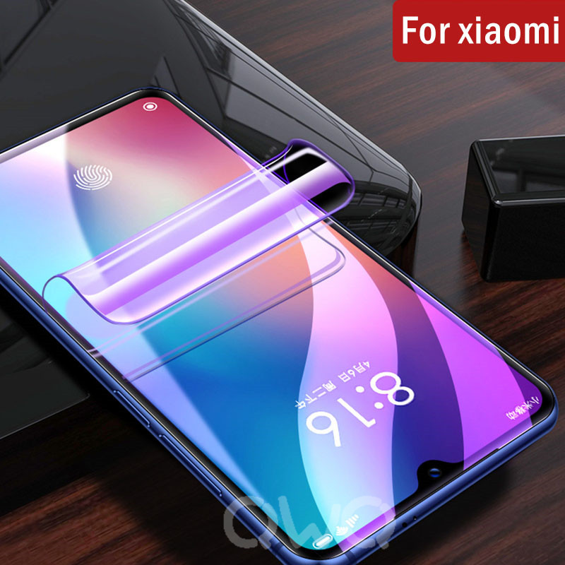 20D blue light hydrogel for xiaomi mi 9 se 9t 8 lite mix 3 2 2S screen protector for xiaomi mi A3 Lite A2 MI9 a1 Protective film