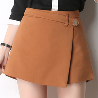 Hot Summer Shorts Skirt Women Black Hotpants Woman Shorts Fashion 2017 Student High Waist Shorts Women Fashion Short