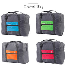 Fashion WaterProof Travel Duffle Bag Women Large Capacity nylon Folding Bag Unisex Luggage Travel Handbags(China)
