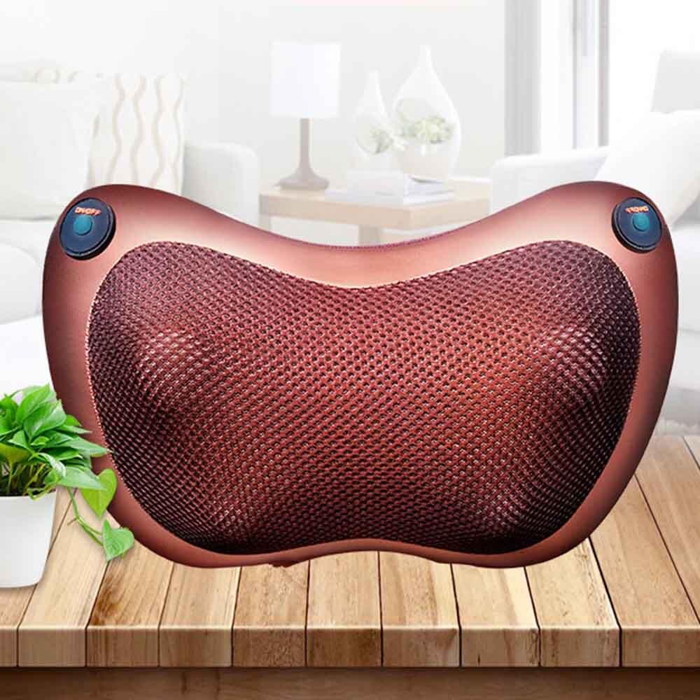 Carro E Casa de Massagem de Relaxamento Travesseiro Massagem No Pescoço Ombro Massager Aquecimento Infravermelho Elétrico Relaxamento Do Corpo Massageador