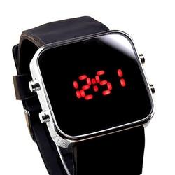 2018 Luxury Brand Mens Sports Hot Clock New Fashion Mirror LED Digital Sport Unisex Watch Gift Electronic LED