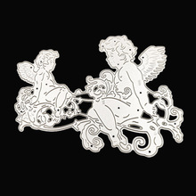 AZSG Angel child Cutting dies/scrapbooking dies metal Dies scrapbooking