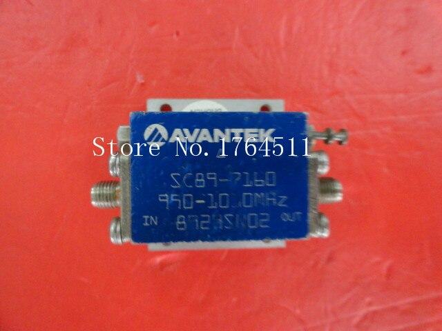[BELLA] AVANTEK SC89-7160 950-1000MHz 18V SMA Low Noise Amplifier