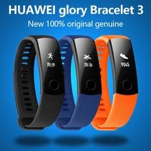 Новый оригинальный Huawei Glory браслет 3 Smart Bluetooth Motion, сердечный ритм, мониторинг сна, водонепроницаемые наручные часы для Xiaomi 2