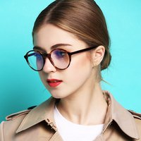 2018 New Design Handmade Acetate Glasses Fashion Colors EyeWear Frames For Young Women Girls Round Luxury