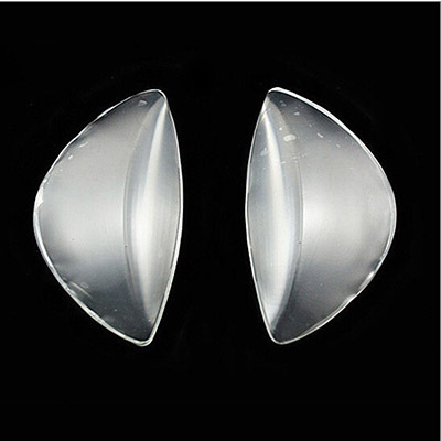 Clear Silicone Gel Arch Support Shoe Inserts Foot Wedge Cushion Pads Pain Relief Flat Feet Insoles
