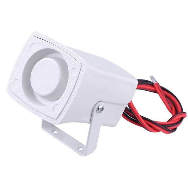 10PCS Mini Wired Siren Horn For Wireless Home Alarm Security System