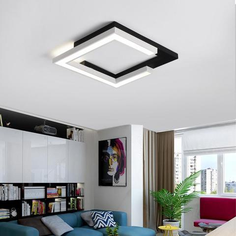superficie montado lampada do teto moderna levaram