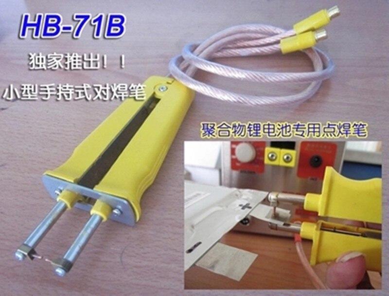 SUNKKO HB-71B Batterie de soudage par points stylo utiliser pour polymère batterie de soudage pour s709a spot soudeur machine, 5 paires petit soder broches